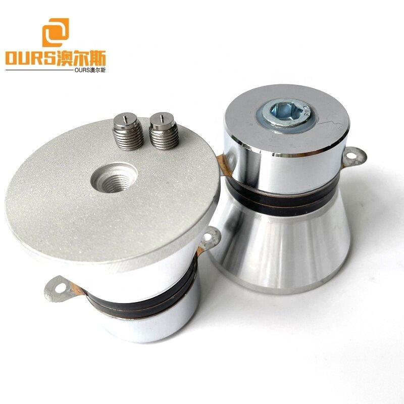 28K 100W Piezoelectric Sensor Ultrasonic Cleaning Sensor Used On Car Filter Oil Parts Clean Machine