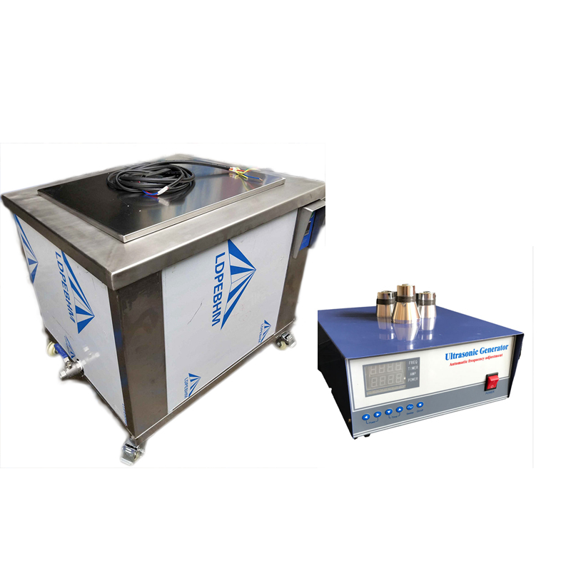 1200W Durable SUS316L material made acid wash stainless steel dip ultrasonic tank for industrial ultrasonic parts cleaning