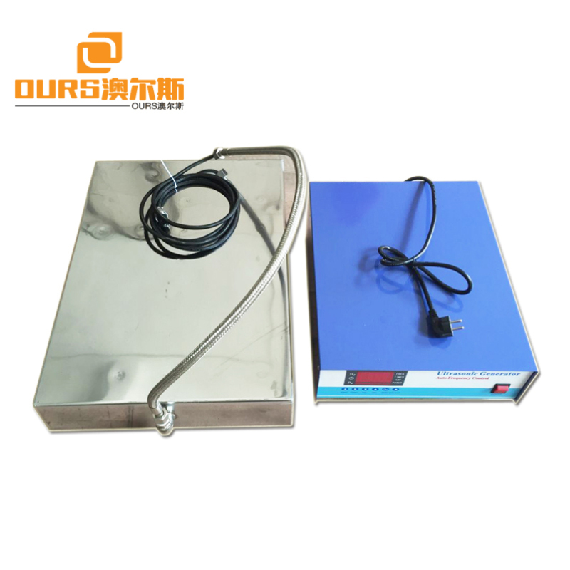 1800W Customized SUS316 Industrial Ultrasonic immersible Transducer For Generator Control System