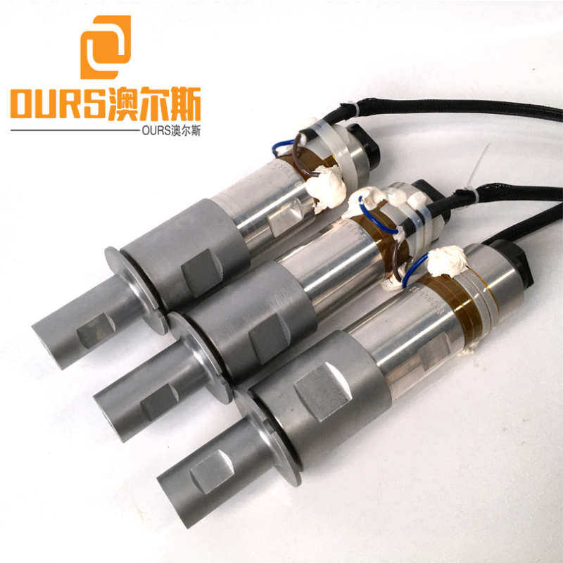 2000W 20khz High Amplitude piezoelectric ceramic ultrasonic transducer for plastic welding