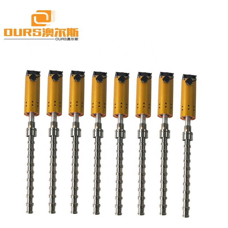 1000W Ultrasonic Emulsification Reactor For 20KHz Ultrasonic Biodiesel Reactor With Flowing Ultrasonic Homogenizer