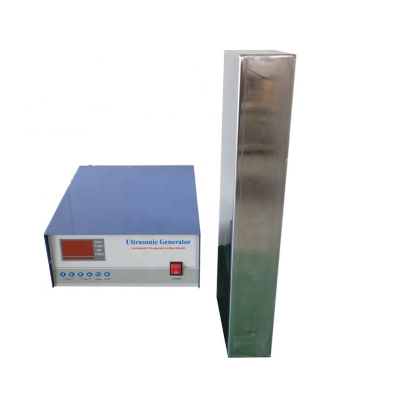 28KHz + 40KHz Dual Frequency Immersible Ultrasonic Transducer And Generator With Rigid Pipe 1200W