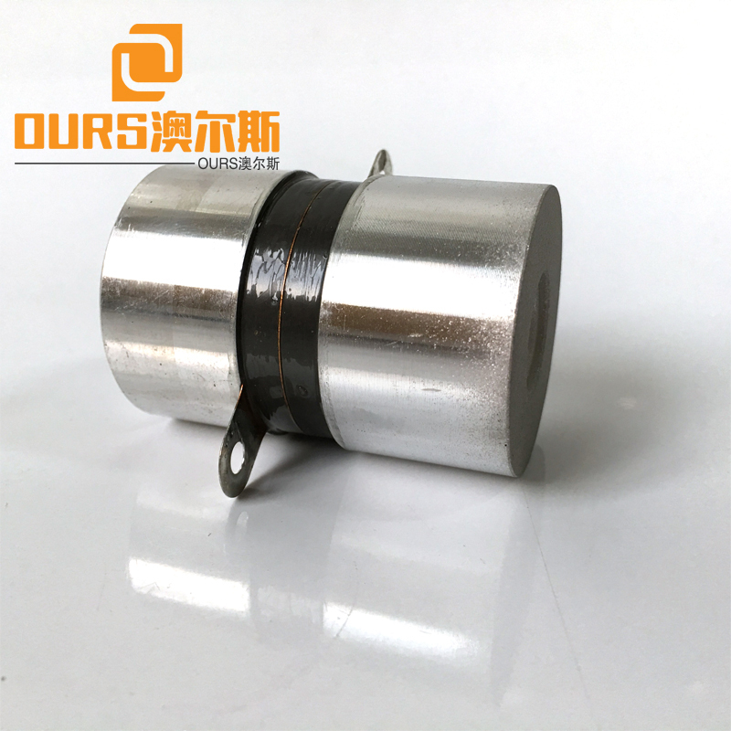 135KHz 50W P4 High Frequency Piezoelectric Transducer Ultrasound For Ultrasonic Washing Equipment
