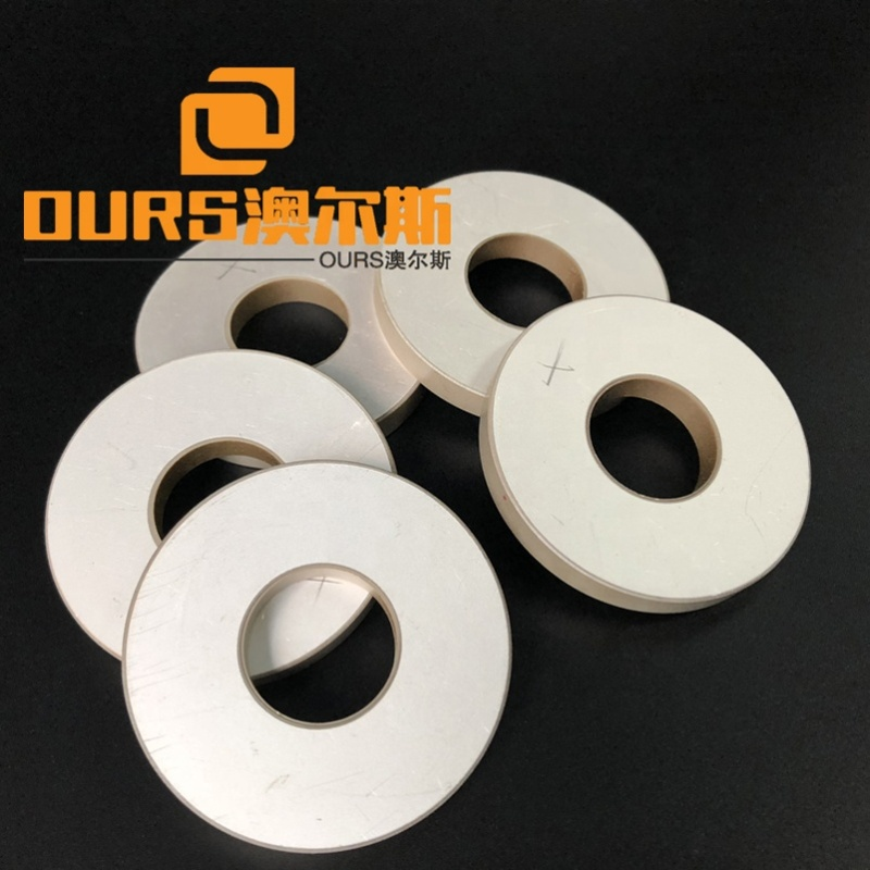 Factory Wholesale Size 50x20x6mm Ring Piezo Ceramic Elements Material PZT8 As Ultrasonic Cleaning Sensor Kits