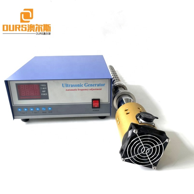 Customized Waterproof 20K Ultrasonic Transducer Vibrator Reactor Industrial Emulsification Homogenization Biodiesel System