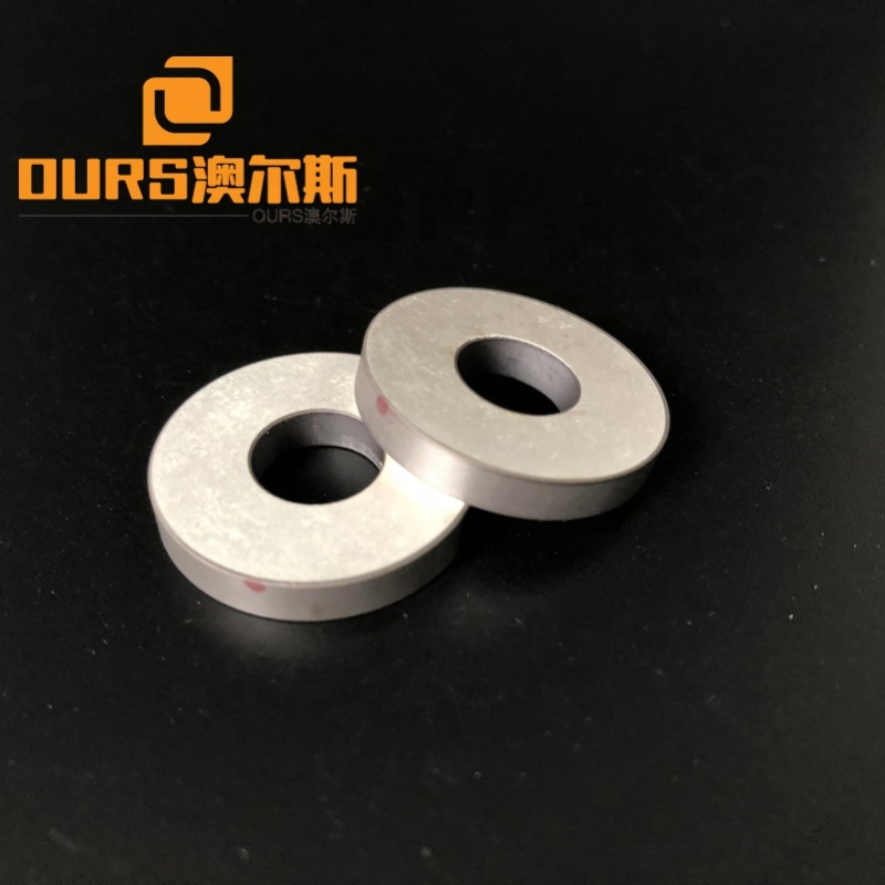 Low Cost Ultrasonic Products Piezo Ceramic Ring 25x10x4MM For Product Cleaning Transducer P4 Material Ceramic