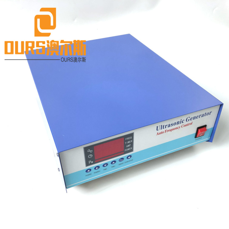 25khz/45khz/80khz Multi-Frequency 1200W Ultrasound Driving Power Supply For Parts Ultrasonic Washing Machine