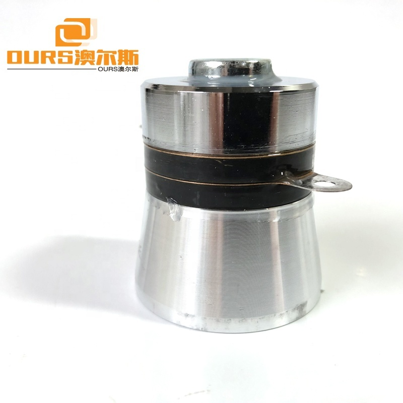 PZT-4 40K 60W Frequency Piezoelectric Ultrasonic Transducer For Immersible Submersible Ultrasonic Vibration Box