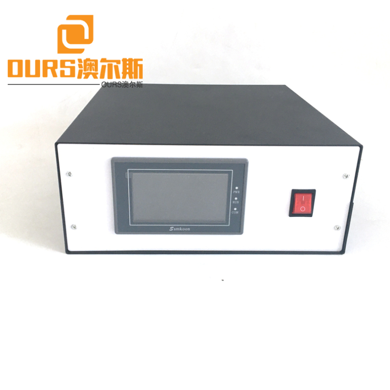 15KHZ/18KHZ/20KHZ 2000W digital High Amplitude ultrasonic welding generator For non woven bags welding