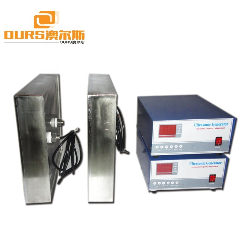 Input Ultrasonic Vibration Plate 1500W Submersible Ultrasonic Sensor  For Industrial Cleaning Machine Sink