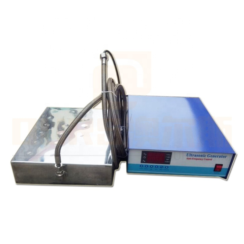 High Frequency Vibration Wave Ultrasonic Submersible Sensor Box 80K Ultrasonic Vibrator Pack And Cleaner Generator For Cleaner