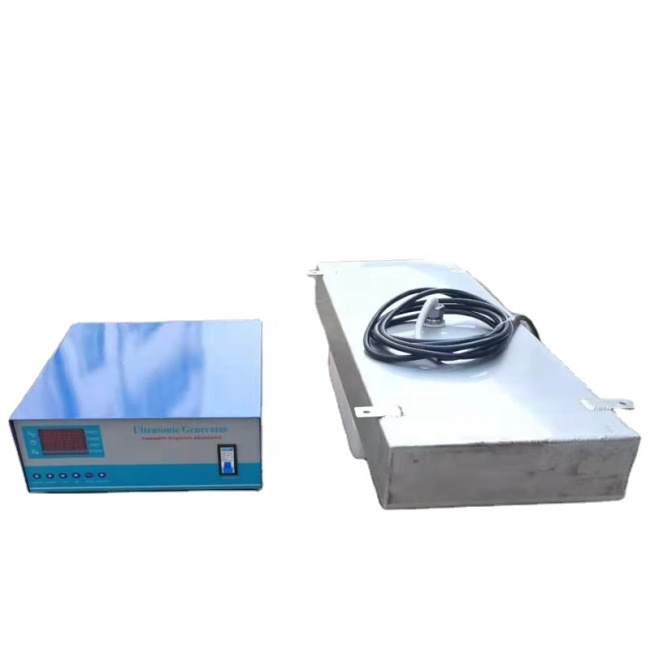Waterproof Type Ultrasonic Immersible Transducer Pack 4000W Submersible Plate With Generator For Engine Parts Cleaning