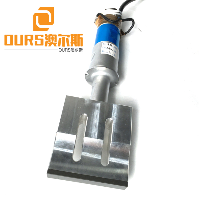 CE Certification 20KHZ 2000W Ultrasonic Welding Generator Transducer booster Horn for plastic machine geocell welding machine