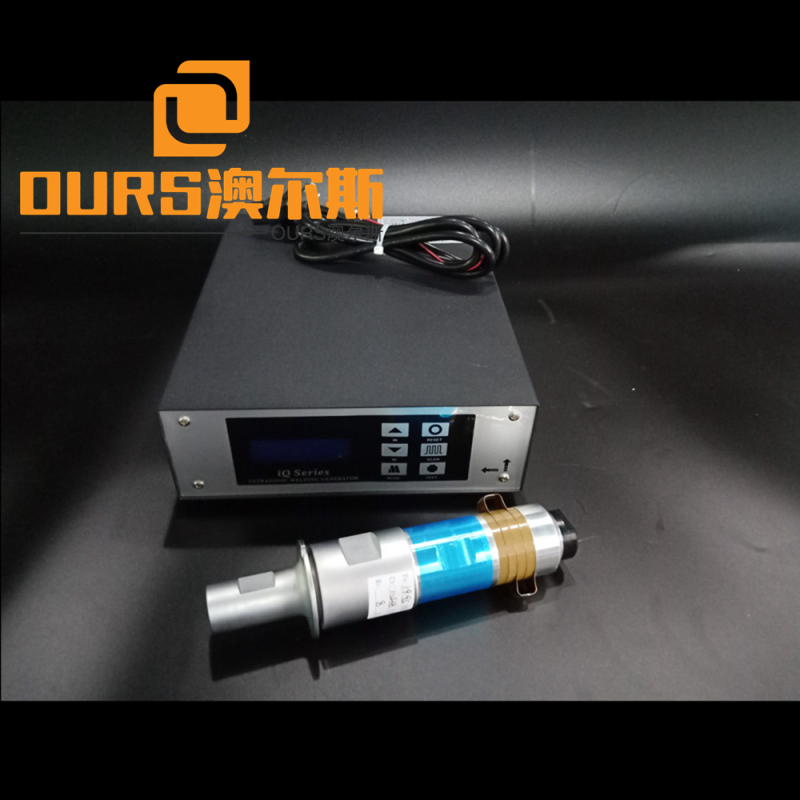 15khz 2000w Ultrasonic welding machine with transducer generator Horn for 3 Ply  Non-woven Face Mask