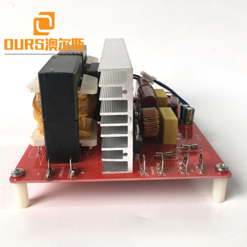 500W 20KHZ/25KHZ/28KHZ/33KHZ/40KHZ Ultrasonic Sound Generator Circuit For Cleaning Grease Nipple