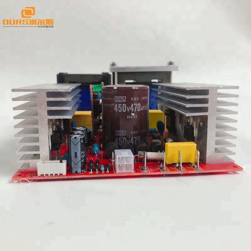 28K600W 220V ultrasonic PCB generator+display board,Ultrasonic frequency and power +timer adjustable