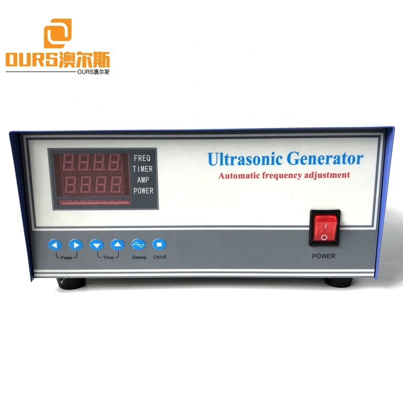 Ultrasonic Cleaning Equipment Driver Multi-Frequency Ultrasonic Generator 600W Immersible Ultrasonic Cleaning Sensor Power