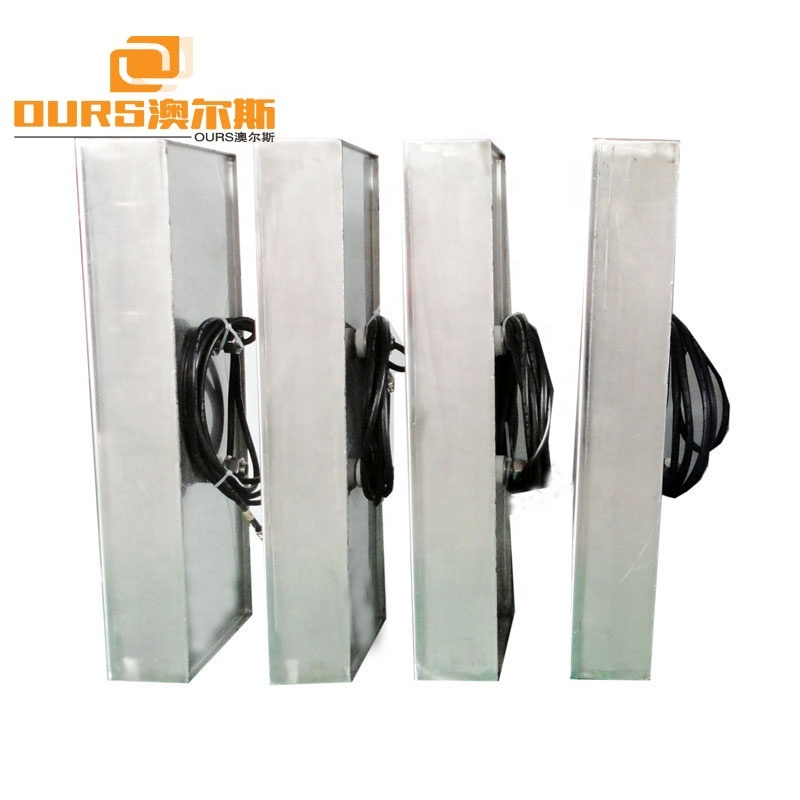 300W to 7KW High Quality Stainless Steel/Titanium Alloy Anti-corrosion Submersible Ultrasonic Transducer Pack