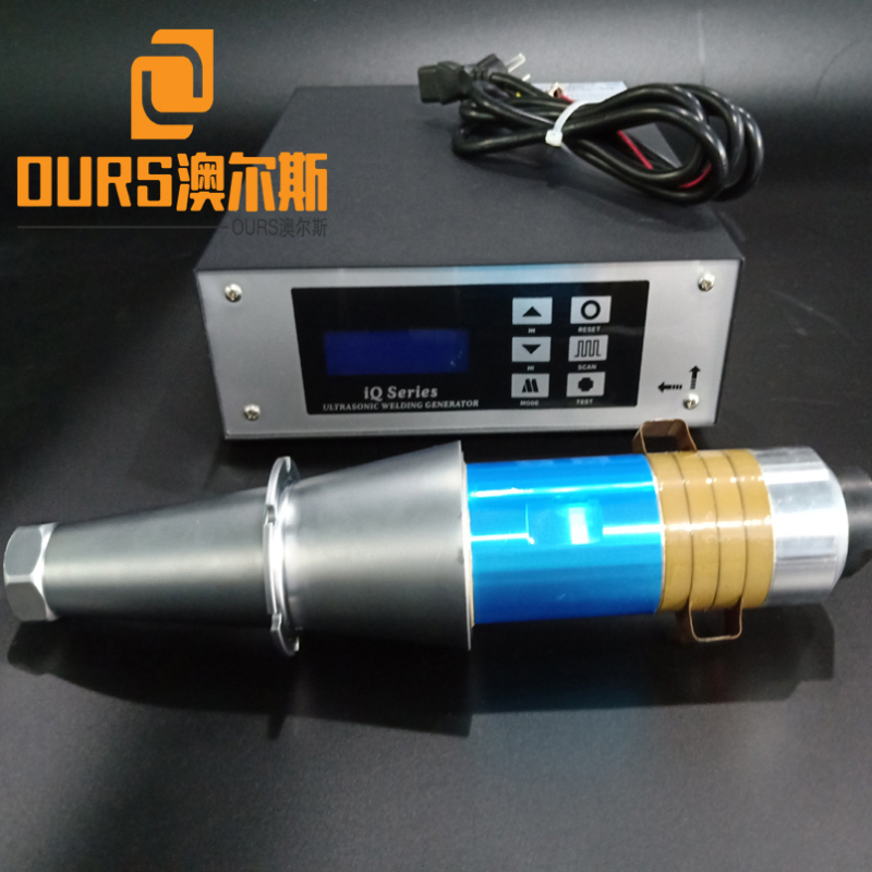15khz 2000W disposable surgical masks ultrasonic welding transducer with horn