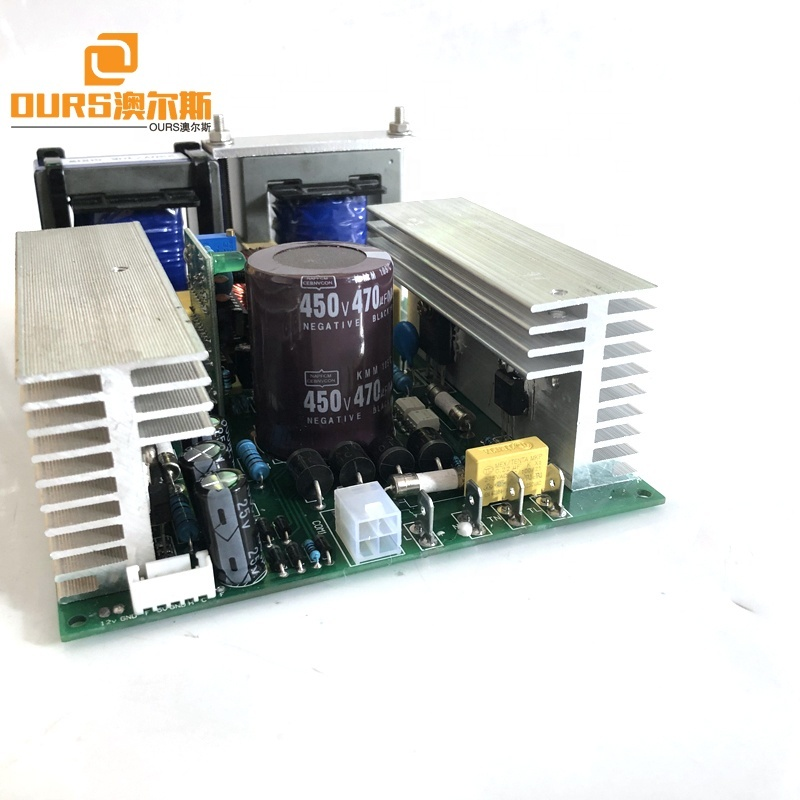 28K Or 40K 600W Ultrasonic Circuit Generator For Ultrasonic Cleaner For Medical Industry