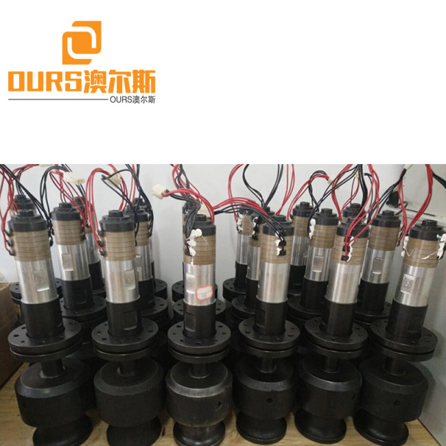 40KHZ PZT8 High Frequency Piezo Ultrasonic Welding Transducer For Ultrasonic Spot Welding Machine