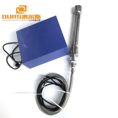 1000W Immersible Industrial Ultrasonic Tubular Transducer Cleaner Stick Used In Pipe Trough Cleaning