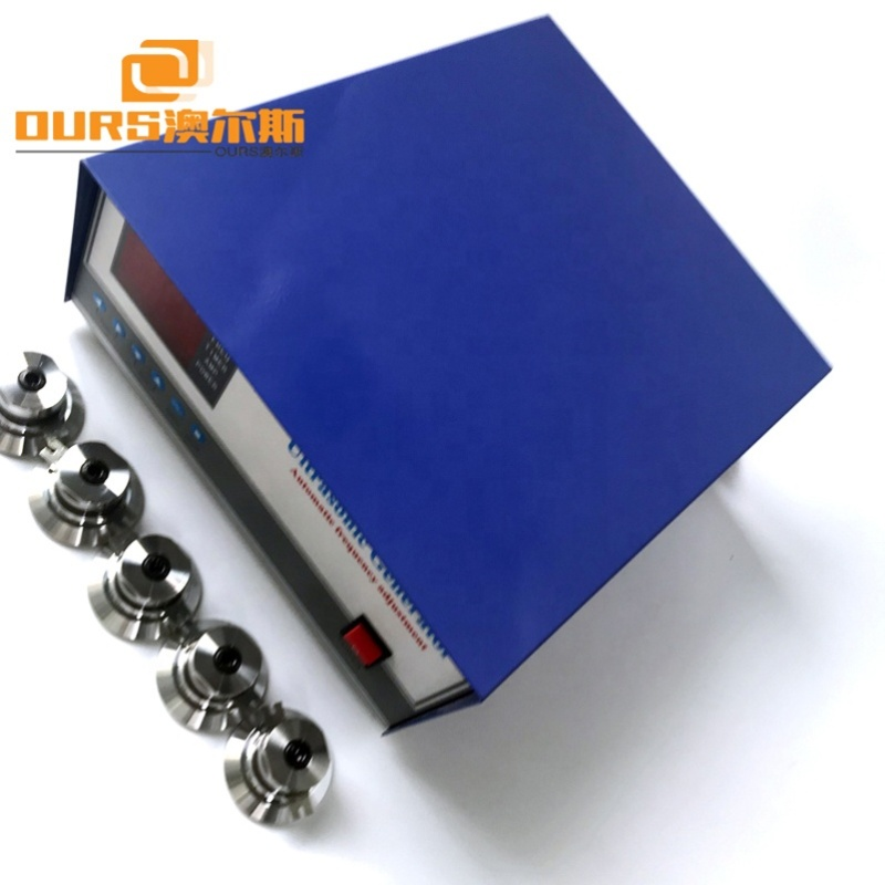 1800W 28KHz/40KHz Single Frequency Ultrasonic Power Generator Used In Industrial Cleaning Equipment