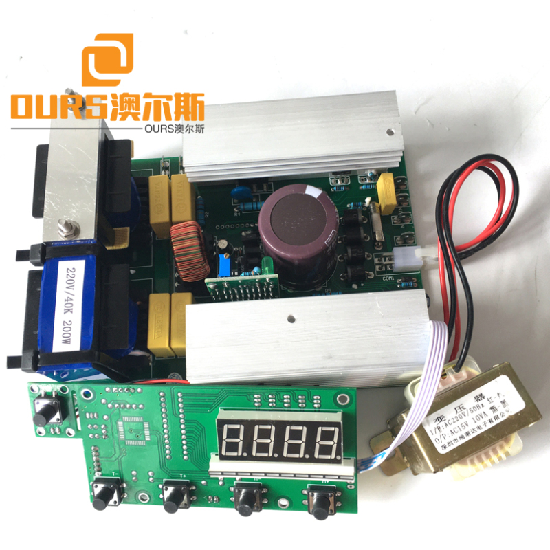 200W-600W 220V 28KHZ High Power Ultrasonic Generator Circuits For Cleaning Aluminum Parts