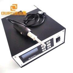 28khz 800w 220v  Hand - Held Ultrasonic Spot Welding Machine Equipment For Seamless Shoes