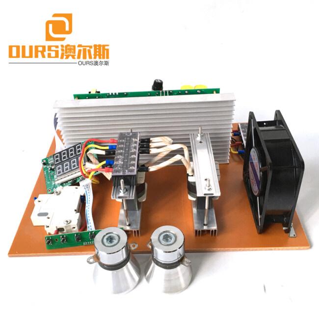 28KHZ/40KHZ 1000W Power Adjustable Ultrasonic Oscillator Generator PCB For Ultrasonic Cleaning Machine