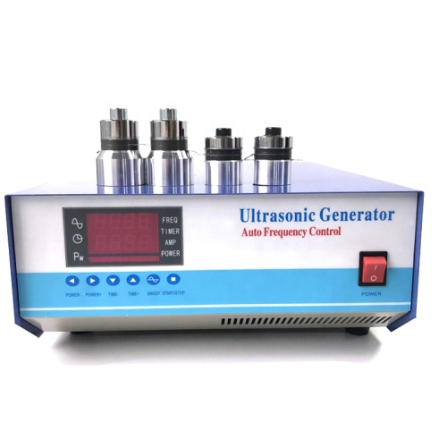 Industry Energy Supplier OURS Ultrasonic Generator Cleaning Multi Frequency Vibration Wave Generator 28K/60K/70K/84K Power Box
