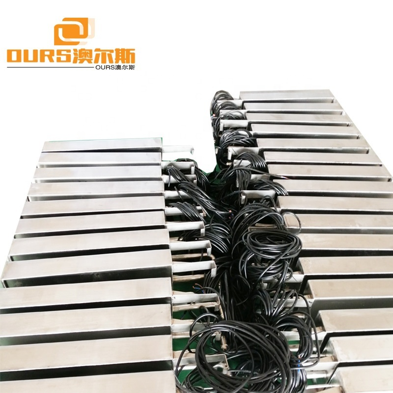 300W-3000W Ultrasonic Cleaner Machine Immersible Type Ultrasonic Transducer And Generator For Large Ultrasonic Cleaners