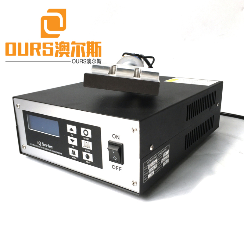 2000W 20KHZ Ultrasonic Welding Generator For Super High Speed Folding Dust Face Mask Making Machine