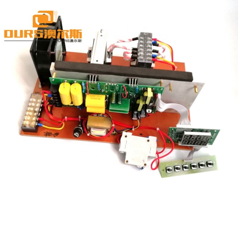 Ultrasonic Cleaning Generator Circuit PCB Board 1200W 40KHz / 28KHz