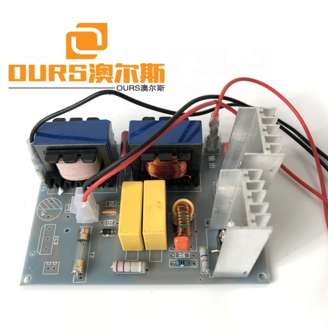 Multi Function Industrial  Ultrasonic PCB Generator For Cleaning Machine 40K 100W