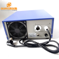 600w 28khz 316 SS Material Ultrasonic Waterproof  Transducer Box For Rubber Cleaning