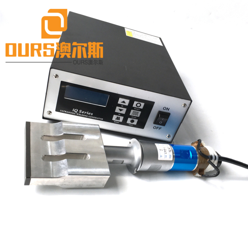 15KHZ/20KHZ 2000W  Ultrasonic Welding Generator with horn for Non Woven Material 3 Ply Surgical Face Mask Making Machine