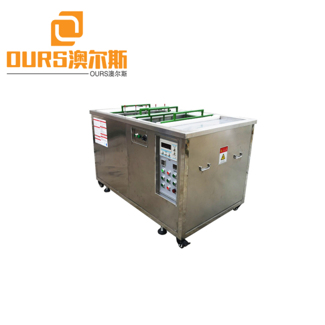 40KHZ 400L Plastic Injection Mold Ultrasonic Electrolytic Cleaning Machine