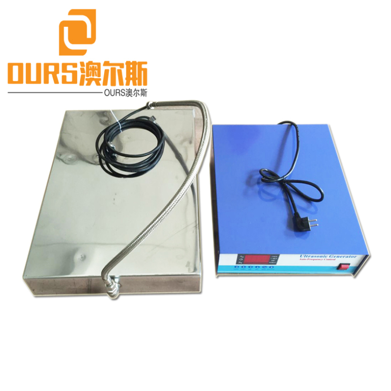 28KHZ 600W Vibration Power Submersible Transducer Box Ultrasonic For Industrial PCB Cleaning Machines