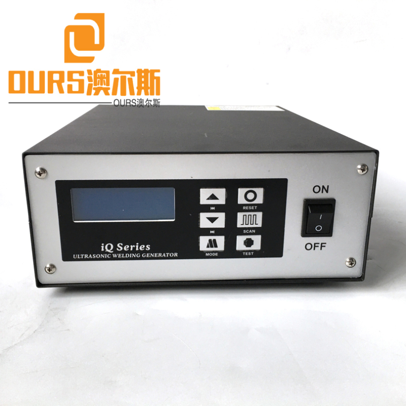 2000W 20KHZ High Productivity Ultrasonic Welding Generator Transducer Booster Horn for Belt of Mask