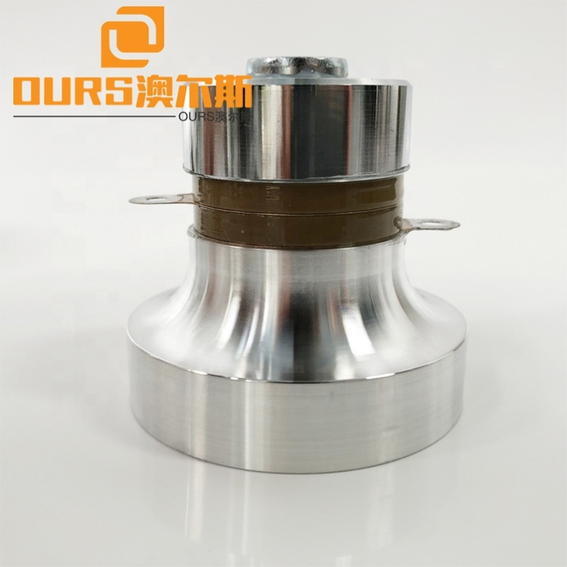 28K/40K 60W Piezoelectric Material PZT8 Ultrasonic Transducer For Cleaning Tank With CE
