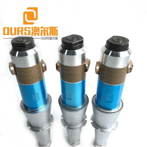 15KHZ/2200W PZT4 PZT8 High Power Ultrasonic Welding Transducer ARS-6015-4C-Si
