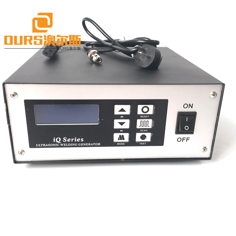 20KHZ Ultrasonic Welder Booster With Generator For Nonwoven Face Mask Making Machine