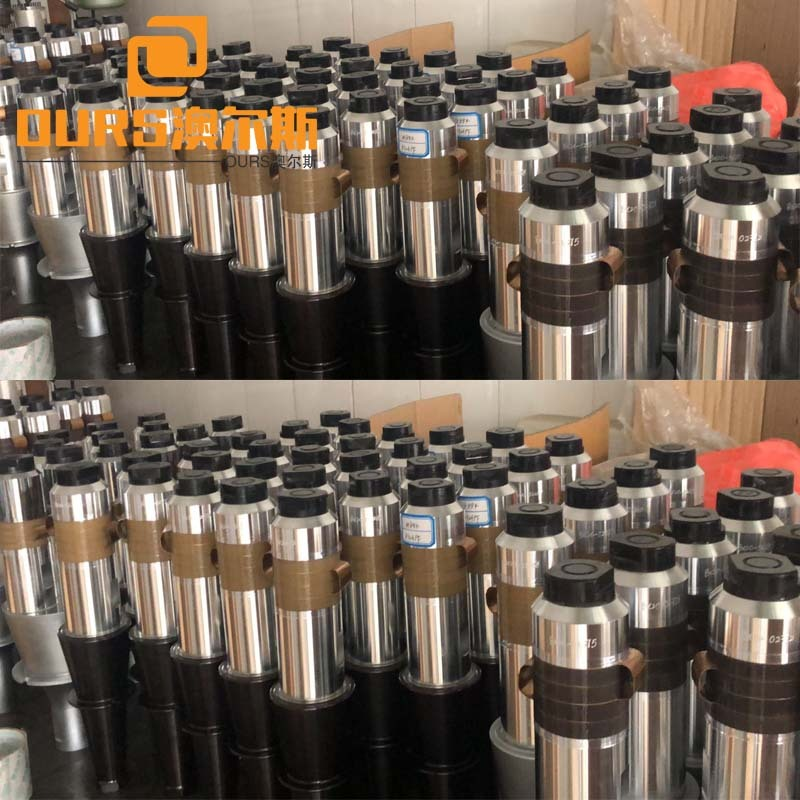 15KHZ 2600W High Power Ultrasonic Welding Piezoelectric Oscillator With Booster For plastic welding