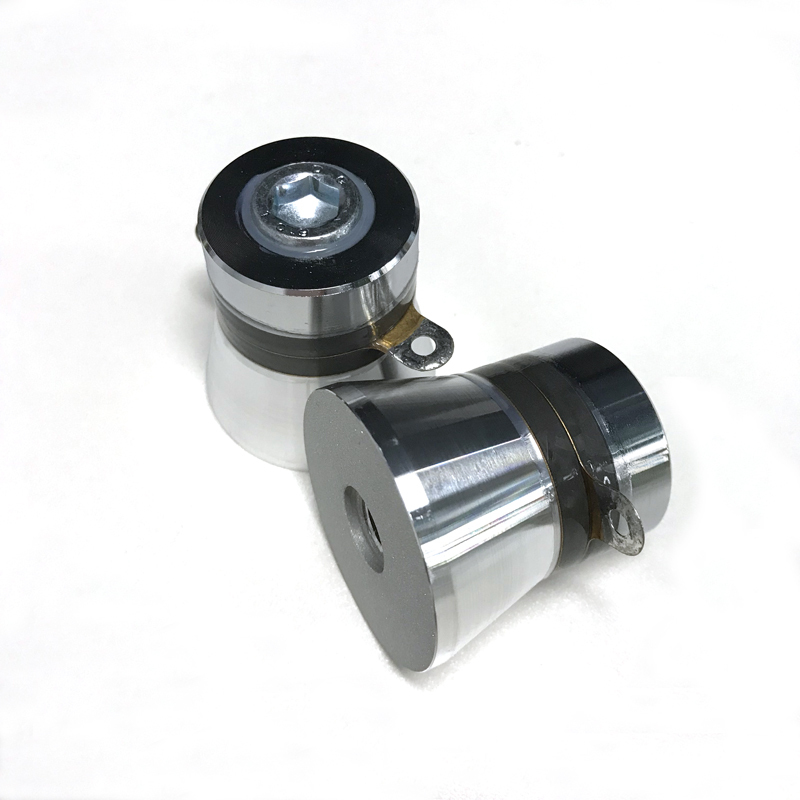 50w 40khz ultrasonic piezoelectric transducer pzt-4 pzt-8 material for Industrial ultrasonic cleaner