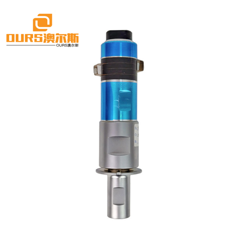 1500W Ultrasonic Transducer For Plastic Mould Welding Machine,20KHz Ultrasonic Welding Transducer