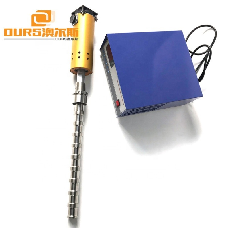 2000W Industrial Ultrasonic System Biodiesel Ultrasonic Transducer 20KHz For Biodiesel Production
