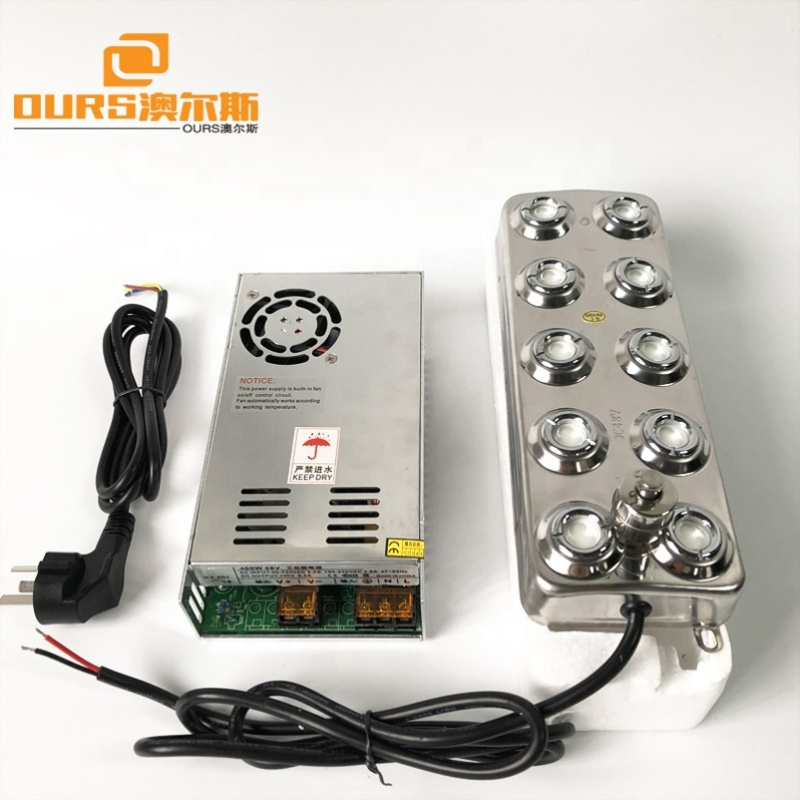 Florist 3000ML Per Hour 250W Humidifier Piezoelectric Transducer 10 Head Ultrasonic Mist Maker Fogger And Power Supply