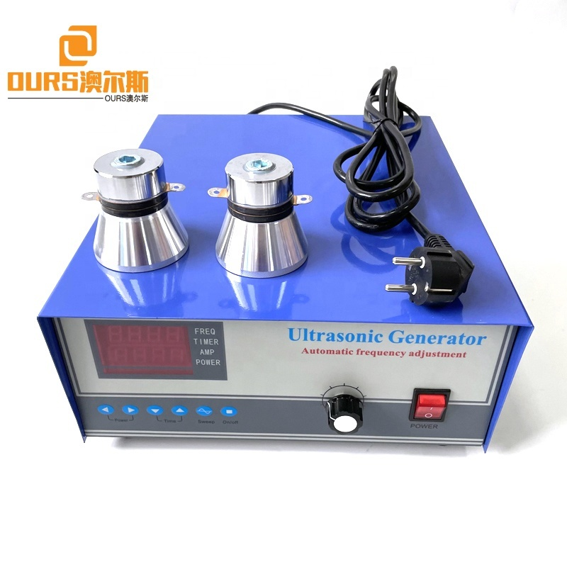 28KHZ 300W-1200W Frequency And Time Adjustable Ultrasonic Circuit Generator As Ultrasonic Hardware Parts Head Cleaner Driver