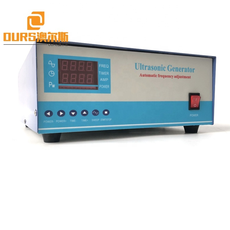 28K 2800W Cleaner Ultrasonic High Power Generator With Power And Time Adjustable For Industry Dies Ultrasonic Cleaning Machine